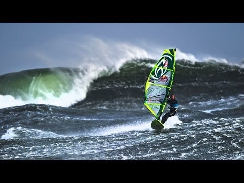 Windsurfing in Tasmania - Mission 2 - Red Bull Storm Chase 2013