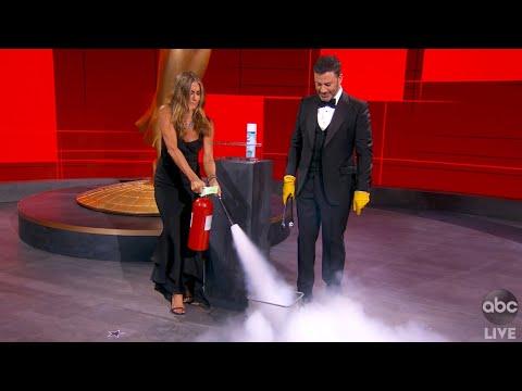 Jennifer Aniston Saves the Emmys!