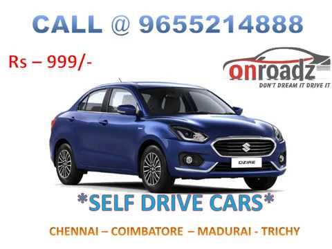 Self Drive Car in Chennai | Self Driven Car Rental in Chennai