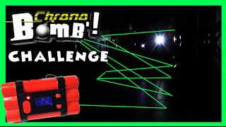 Spy Kids CHRONO BOMB CHALLENGE - Lazers, Explosions, Bombs and Blind Bags!!