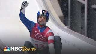 2018 Winter Olympics: Chris Mazdzer's silver medal run in men's singles luge | NBC Sports