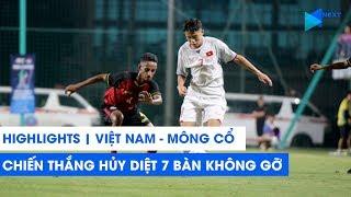 Highlights | U16 Việt Nam - U16 Mông Cổ | Hủy diệt 7 bàn, cảnh báo Australia! | NEXT SPORTS