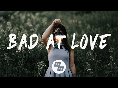 Halsey - Bad At Love (Lyrics / Lyric Video) Dillon Francis Remix