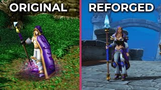 Warcraft III - Original vs. Reforged Trailer Graphics Comparison