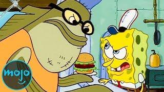 Top 10 SpongeBob Characters Who Hated SpongeBob
