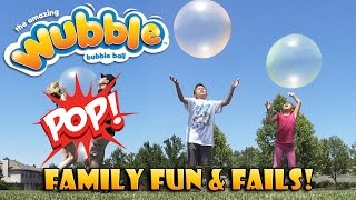 WUBBLE BUBBLE Explosion! POPPING The Ball That Looks Like a Bubble!