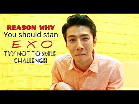 EXO try not to smile challenge