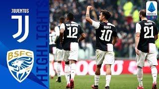 16/02/2020 - Campionato di Serie A - Juventus-Brescia 2-0, gli highlights