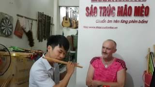 Người bạn Pháp. Mê sáo Việt Nam