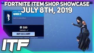 Fortnite Item Shop *NEW* WORK IT EMOTE! [July 8th, 2019] (Fortnite Battle Royale)