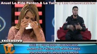 La Taina Le Contesta A Anuel Y Anuel Le Pide Perdon Dando Candela 12-sep-18