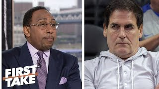 Stephen A. says Mark Cuban should be suspended 6 months | First Take | ESPN