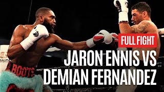 JARON ENNIS VS. DEMIAN FERNANDEZ