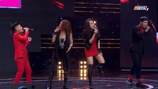 Anh Tuấn, Duy Tuấn và Phương Trang, Phương Ly 'bùng cháy' trên sân khấu