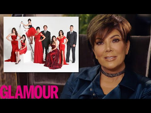 Kris Jenner Explains The Kardashian's Crazy Christmas Cards   Glamour