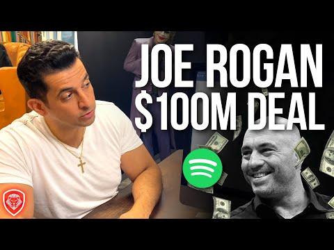 Joe Rogan's $100 Million Deal with Spotify