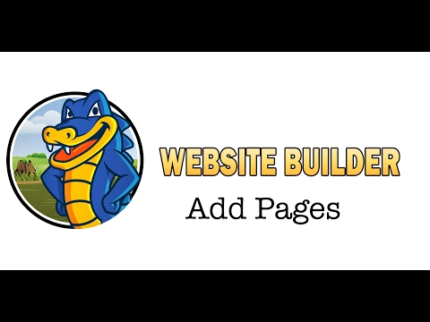 How to Add New Pages to Your Website
