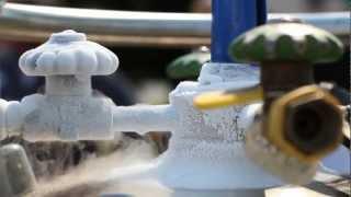 Liquid Nitrogen Pipe Freezing Demonstration in the GTA