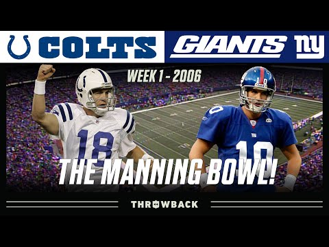 """The Manning Bowl"" (Colts vs. Giants, 2006) 