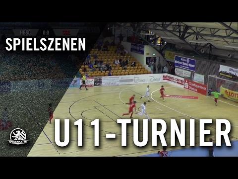 Hertha BSC - Eintracht Frankfurt (U11 E-Junioren, Zwischenrunde, Allianz Cup 2017) - Spielszenen | SPREEKICK.TV