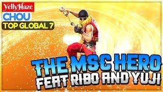 The MSC Hero, Feat Ribo And Yuji [ Top Global 7 Chou ] YellyH̶aze Chou Gameplay And Build