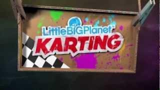 Littlebigplanet karting disponible sur ps3 :  bande-annonce