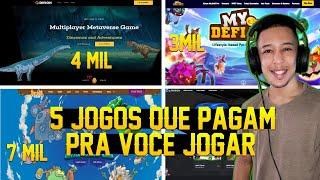 ????GANHE DINHEIRO JOGANDO! 5 JOGOS NFTS QUE PAGAM PRA VOCE JOGAR! 7MIL POR MES! MUDE DE VIDA!!!