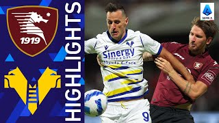 Salernitana 2-2 Verona | The spoils are shared at the Arechi Stadium| Serie A 2021/22