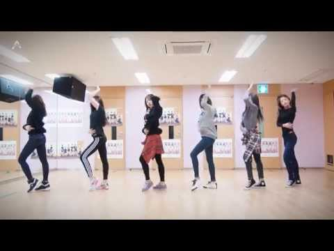 Apink 'LUV' mirrored Dance Practice