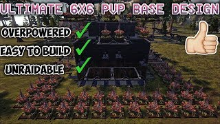 Ark Builds | 6x6 Ultimate Pvp Base Design [Tutorial][Ark Survival Evolved]
