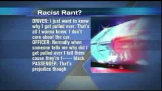 Cop caught on tape telling blacks why he pulled them over