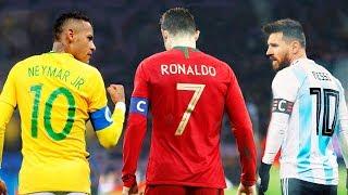 Neymar vs Cristiano Ronaldo vs Messi ● National Heros