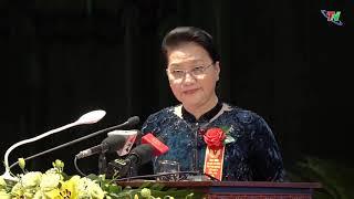 Đồng chí Nguyễn Thị Kim Ngân, Ủy viên Bộ Chính Trị, Chủ tịch Quốc hội nước CHXHCN Việt Nam