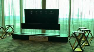LG Rollable OLED TV hands-on demo
