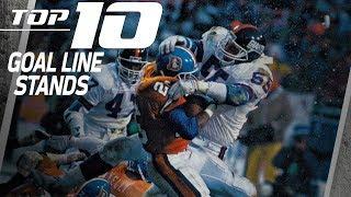 Top 10 Goal Line Stands | NFL Films
