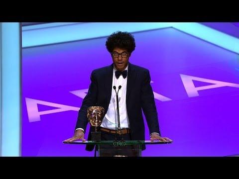 Richard Ayoade wins a Bafta - The British Academy Television Awards 2014 - BBC One