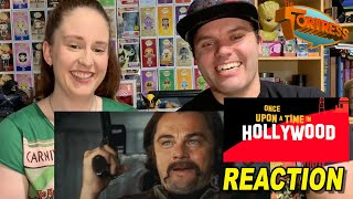 Once Upon A Time In Hollywood Teaser Trailer REACTION
