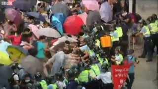 Xảy ra đụng độ với cảnh sát ở Hong Kong