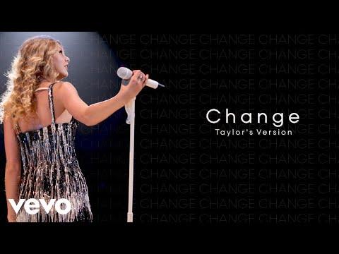 Taylor Swift - Change (Taylor's Version) (Lyric Video)