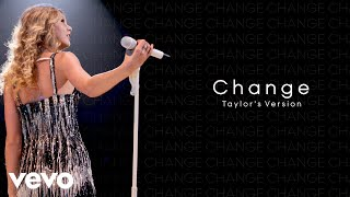 Taylor Swift - Change (Taylor's Version) (Lyric Video)
