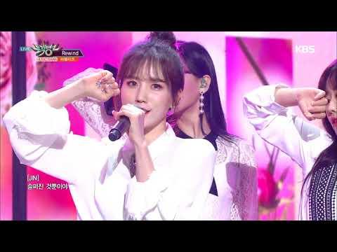 뮤직뱅크 Music Bank - Rewind - 러블리즈(Lovelyz).20190111