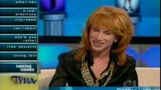 Kathy Griffin on Tyra - Part 1/5