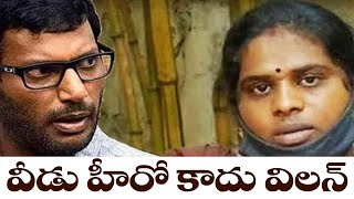 Ramya levels shocking allegations against actor Vishal..