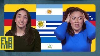 U.S. Latinos Guess Latin American Flags