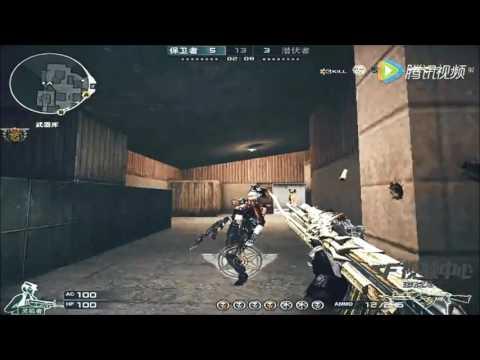 CrossFire : AK-47-Beast Noble Gold vs Barrett-Born Beast