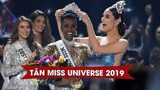 Người đẹp Nam Phi CHÍNH THỨC đăng quang Hoa hậu Hoàn vũ thế giới 2019!