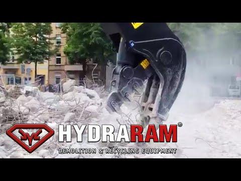Hydraram HFP-42V Excavator mounted bulk pulverizer