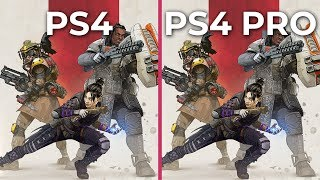 APEX Legends – PS4 vs. PS4 Pro Graphics Comparison