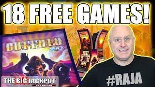 18 Free Games! 💸NEW GAME Buffalo Max Slots 🎰| The Big Jackpot