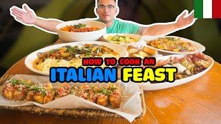 How to cook an ITALIAN FEAST